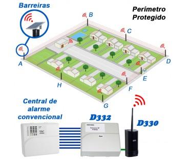 D332 -  KIT Conversor de Contato Seco em Comunicação Sem Fio
