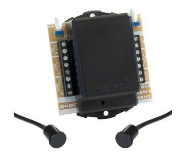 D50-5 Sensor de Barreira Para Embutir, Feixe Único, Digital e Microcontrolado.