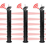 Sensor de barreira infravermelho