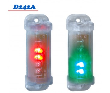 D242A - Mini Sinalizador 2 Cores 12 VDC \ 24 VDC