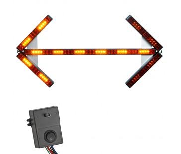 D272D - Sinalizador Seta Duplo LED